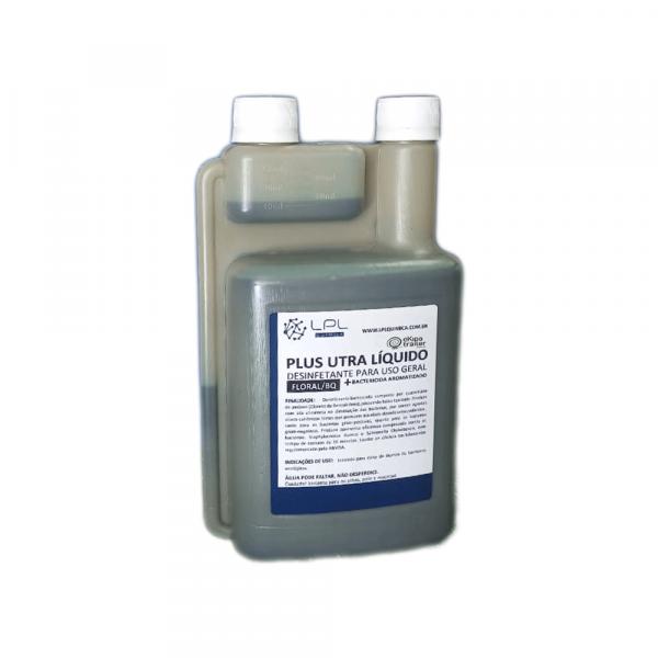 Bactericida liquido para caixa de detritos 1L