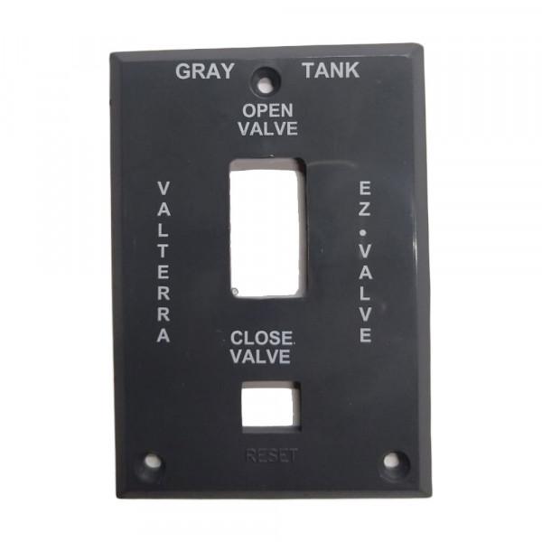 Espelho para Válvula Elétrica (Água Cinza)