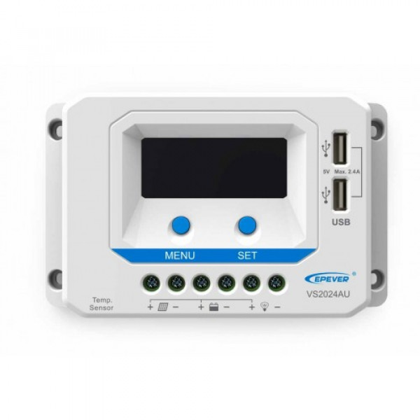 Controlador de Carga com Display Epever ViewStar AU45a 12/24