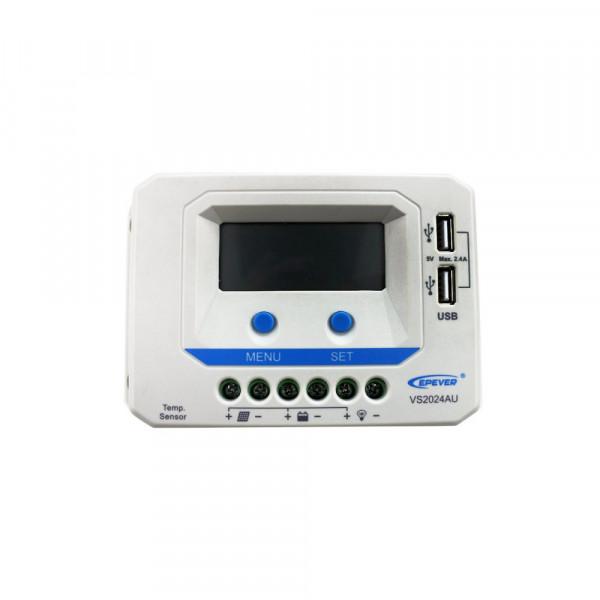 Controlador de Carga com Display Epever ViewStar AU20A 12/24
