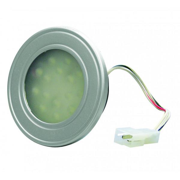 Luminaria Plafon Redonda Embutir 12v 15 Leds