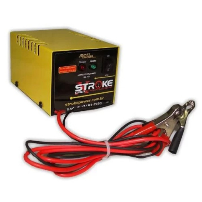 Carregador de Bateria STR 16V 10AH