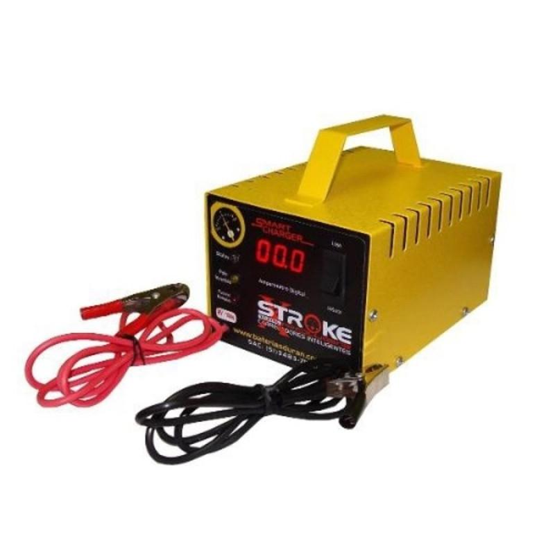 Carregador de Bateria STR 16V 10AH Digital