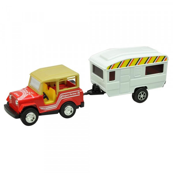 Miniatura SUV + Trailer 27-0010