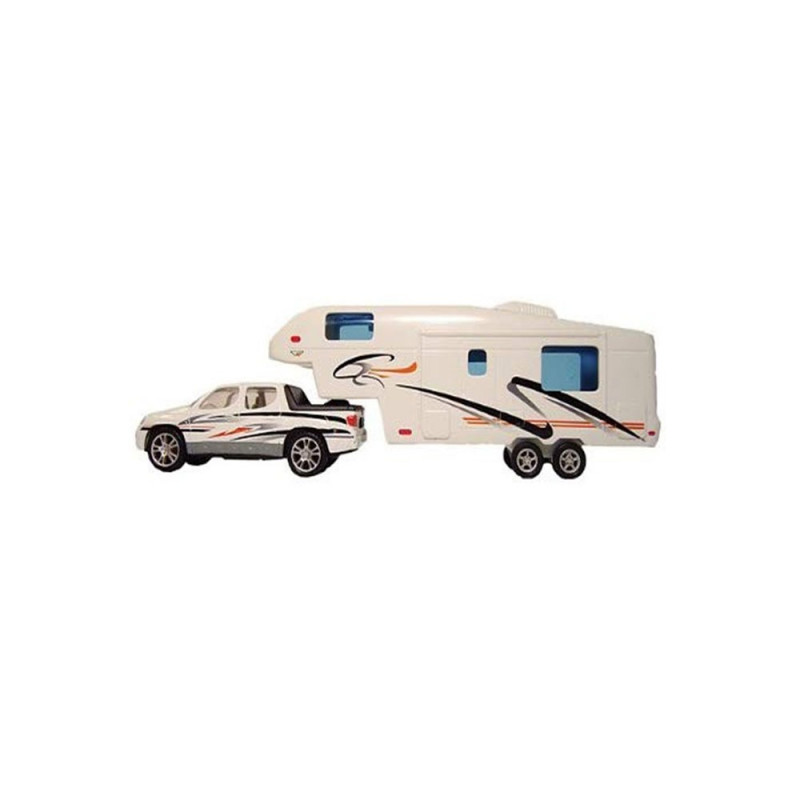 Miniatura Caminhão e 5ª Roda 27-0020